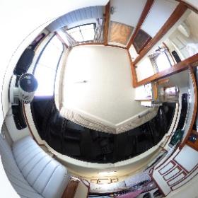 中古艇ドットコム ブラックフィン 室内写真 #theta360