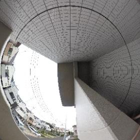 ルフレ世田谷ノール_共用_屋外階段2(南東2-3F)