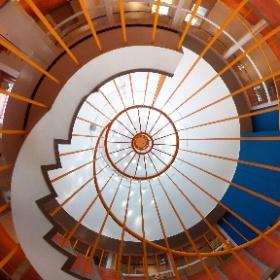 円形劇場の螺旋階段