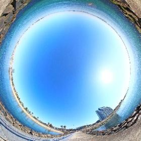 愛知県常滑市|大野海水浴場 #大野海水浴場,#常滑市大野町 #theta360