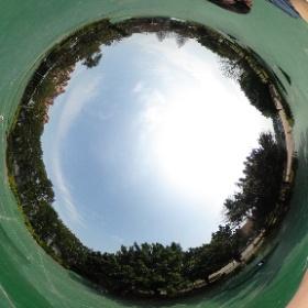 老闆來🌲林極限公園🚴~ #theta360