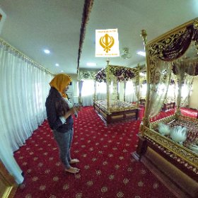 Gurdwara Siri Guru Singh Sabha Sikh temple in little India / Chinatown Bangkok built in 1911, SM hub https://goo.gl/cI9LkF  #butterfly3d