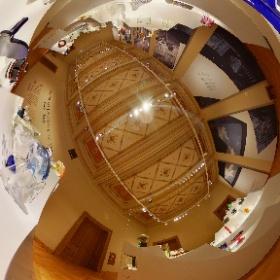 PLEJÁDY SKLA 1946 - 2019, #Uměleckoprůmyslové museum, #Praha / PLEIAD OF GLASS 1946 - 2019, #Museum of Decorative Arts, #Prague, Foto: #Petr Salek, #ARTmagazin.eu #theta360