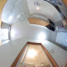 カンセイホーム・クレスト ABC号室のトイレ&キッチン