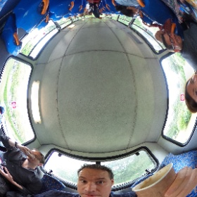 Naughty boys at the back of the bus..  #ifmkfest #theta360uk