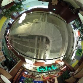門星(モンスター) 茨城県つくば市竹園1-9-2デイズタウン地下1Fカラオケ屋さんの隣  #theta360