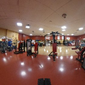 The fitness center!