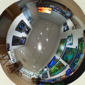 「武蔵小杉」にて、幻想的でファンタジーな作品展「モルフィウス」の様子 その2です。 HP→ http://www.seasunhp.net/morphius.html   #モルフィウス  #theta360