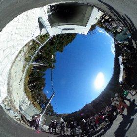 大型低温重力波望遠鏡KAGRAの坑道入り口 2015.11.6撮影 #nvslive