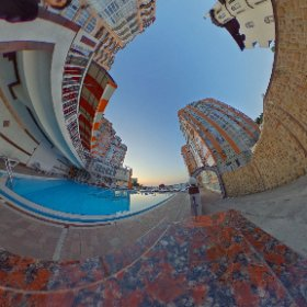 Darsan morning / In center of tasty estate in Yalta #theta360