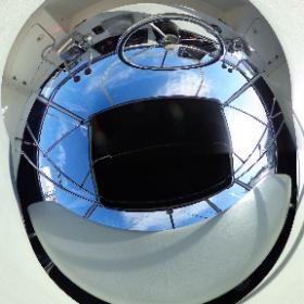 中古艇ドットコム カリビアンバートラム28 FB内写真 #theta360