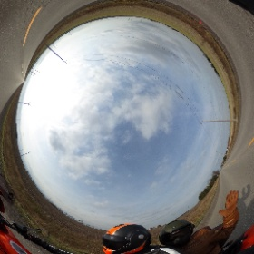 Georgian Bay 2017 end of season ride #triumph #roofhelmet #theta360