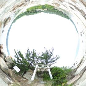 福岡箱島にて #theta360