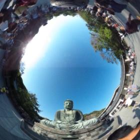 鎌倉の大仏 #theta360
