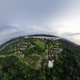 view of all Gamboa from above #360 #VR #theta360