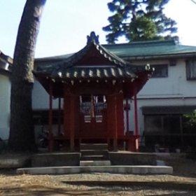 出世稲荷神社(大田区南馬込)。 #theta360