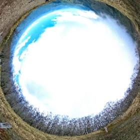 十枚山 2020-05-11 晴れ&ガス 気温:22℃ #theta360