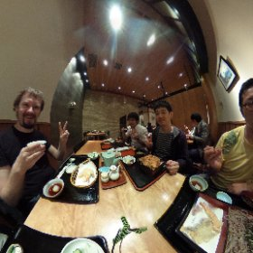Tempura Lunch with Andrey @vlasovskikh and friends :) #PyConJP