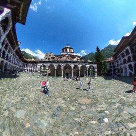 #Rila Monastery #bulgaria #theta360