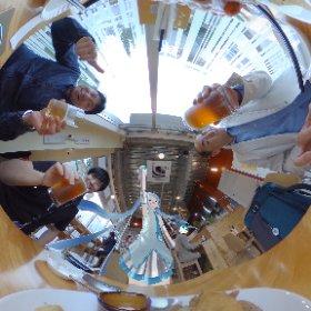 海老名ビールでかむぺ〜〜〜いっ🤗  #miku369 #theta360