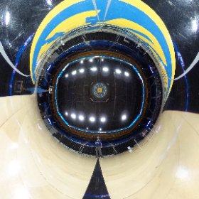 UCLA Pauley Pavilion, center court. #theta360