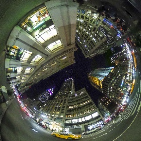 #StreetsOfNewYork #EmpireStateBuilding at #night #360photo from #BCPix.com #ricohtheta #thetas #theta360