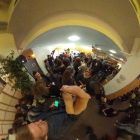 Wieder mal voll voll hier bei #tubemunich (in 360grad)