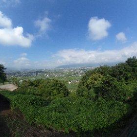 勝沼からの風景です。360度楽しんでください, #theta360