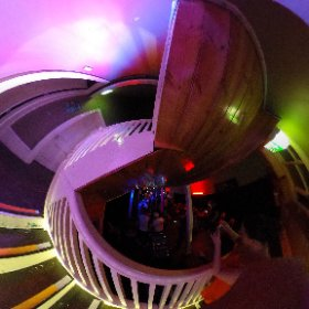 Hobbs Bar at Fly By Night for Ryan's birthday. #theta360