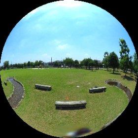 小山城南公園 #theta360