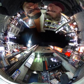 Testing the Ricoh Theta S 360-degree camera. Most fun I've had with a camera in as long as I can remember.