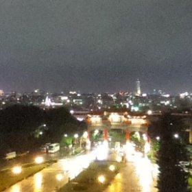 蘇る台湾その3 圓山大飯店の客室からの夜景。2019年9月 #圓山大飯店 #台湾 #台湾旅 #台北 #theta360