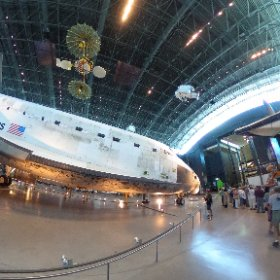 Space Shuttle Discovery, Washington DC. #theta360
