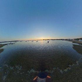 #MudefordQuay waterfront  #theta360 #theta360uk