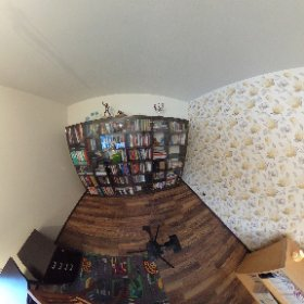 Theta360 test in interiors, minus the burned windows, this is really easy and fast way to give a 360 tour :) #theta360