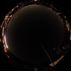 大分大学屋上からの夜景