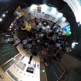 Le stand de #FinalFantasy #CrystalChronicles au #TokyoGameShow2019 ! #theta360 #theta360fr