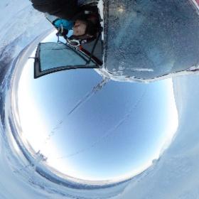 Nydelig dag i Åre. slik ser det ut fra gondolen i dag. #theta360