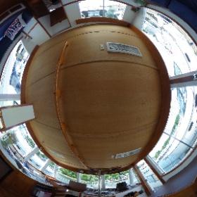 36' Grand Banks Salon #theta360