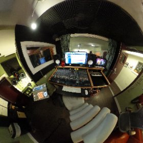 The control room and vocal booth at The Boom Room Studio in Philadelphia #boomroomstudios