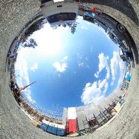 【エスポワール】富士河口湖町の新築賃貸アパート。 #theta360