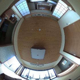 ホテル三日月「富士見亭」の特別室はこんな感じ。 www.mikazuki.co.jp/ryugu/fujimitei/#Room #アクアラインイースト #theta360