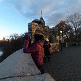Schloss im Central Park in New York
