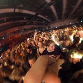 #Kraftklub In Emsland Arena Lingen #theta360 #theta360de