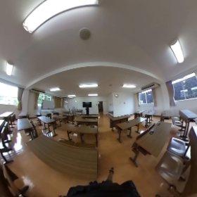 講習室 #theta360