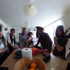 A pirates life for me! Spending long weekend in Scotland for Max's 30th #theta360 #theta360uk