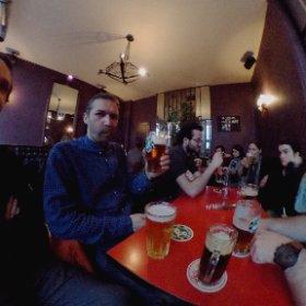 Les Encombrants de La VoLTE, au Mécano Bar ! Y a du monde :-) #theta360 #theta360fr