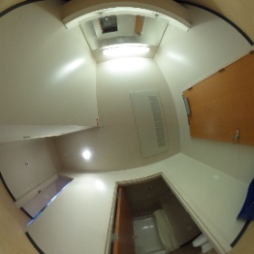 Riverview suite sinks and hall #theta360