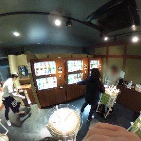 両国 日本酒自動販売機 東京商店 #theta360