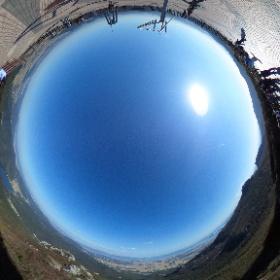 Смотровая площадка на пике Когебон (고계봉) высотой 638 м. Провинциальный горный парк Турюнсан, Ю.Корея.